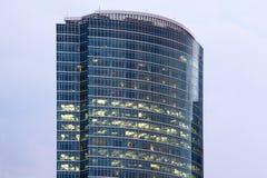 torn för kaj för affärsmitt Royaltyfri Foto