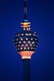 torn för kl Kuala Lumpur Arkivbilder