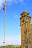 Torn för klocka för Galle fort` s Anthonis - arv för Sri Lanka UNESCOvärld Royaltyfri Foto