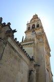 torn för klockacordoba moské Arkivfoton