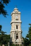 torn för klockadolmabahceslott Royaltyfria Foton