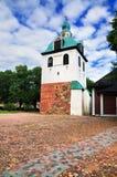 torn för klockafinland porvoo Royaltyfria Bilder