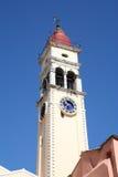 torn för klockaspyridonst Royaltyfri Foto