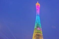 Torn för nattplatskanton i porslin arkivfoto