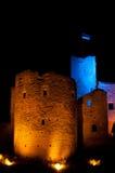 torn för nattrakverefäste Royaltyfri Foto