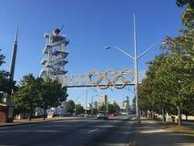 1996 torn för olympisk flamma Royaltyfri Bild