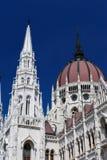 torn för parlament för byggnadskupolframdel arkivbild