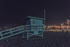 Torn för Santa Monica strandlivräddare Royaltyfria Foton