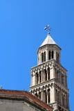 Torn för St Domnius Klocka Royaltyfria Bilder