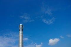 Torn för Suvarnabhumi flygtrafikkontroll, Bangkok internationell Ai Arkivfoto