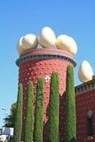 torn för theatre för Salvador för dalimuseum runt royaltyfri foto