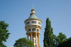 Torn för vattenbehållare Royaltyfri Bild