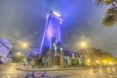 Torn för vattenbehållare i Mar del Plata, Argentina Royaltyfri Bild