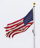 Torn flag Royalty Free Stock Photo