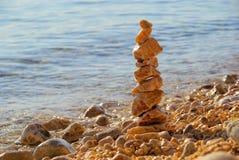 Torn från pebbles Royaltyfri Fotografi