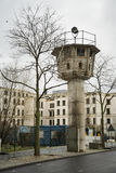 Torn för klocka för Berlin vägg Arkivfoto
