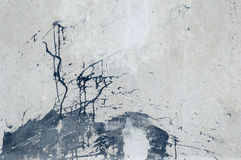 Torn grunge wall royalty free stock photo
