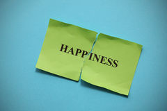 Torn Happiness Royalty Free Stock Photography