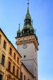 Torn i den Brno mitten Royaltyfri Fotografi
