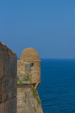 Torn i den Fortezza slotten Royaltyfri Bild