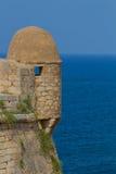 Torn i den Fortezza slotten Arkivbild