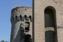 Torn i Erdut, Kroatien Arkivfoton