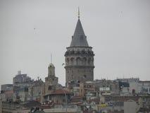 Torn i Istanbul Arkivfoto