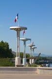 Torn i Lyon, Frankrike arkivbilder