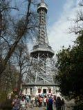 Torn i Prague Arkivbild