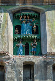 Torn i Sighisoara Royaltyfri Foto