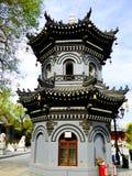 Torn inre Kek Lok Si Temple royaltyfri foto