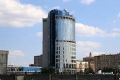 Torn 2000, internationellt affärscentrum för Moskva (Moskva-stad). Ryssland Royaltyfria Bilder