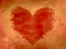 Torn Jagged Red Heart Texture Royalty Free Stock Photo