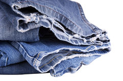 Torn Jeans Royalty Free Stock Photos