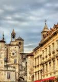 Torn-klocka på den Diocletian slotten i splittring Arkivbild