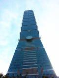 101 torn, kommersiell byggnad, Taipei Taiwan Arkivbilder