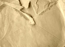 Torn letter Royalty Free Stock Photo