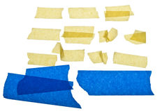 Torn Masking Tape Royalty Free Stock Photography