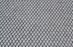 Torn metal mesh. Background Royalty Free Stock Images