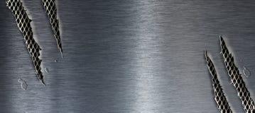 Torn metal texture Royalty Free Stock Photos