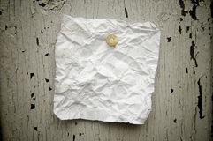 Torn note paper Royalty Free Stock Images