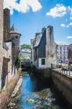 Torn och kanal arkivbild