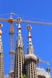 Torn och kranar Royaltyfri Fotografi