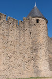 Torn på Carcassonne Arkivbild