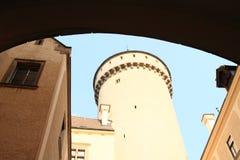 Torn på slotten Konopiste Royaltyfria Foton
