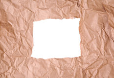 Torn package paper Stock Images