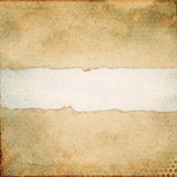 Torn paper. Empty torn old paper background royalty free stock photo