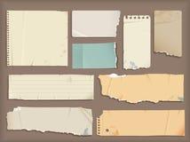 Torn paper stock illustration