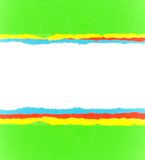 Torn paper. Colorful torn paper background with space for your message stock photos