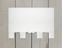 Torn paper for ads Stock Photography